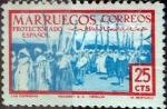 sello : Europa : España : Intercambio 0,20 usd 25 cents. 1952