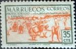 sello : Europa : España : Intercambio 0,20 usd 35 cents. 1952