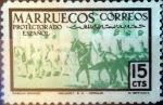 sello : Europa : España : Intercambio 0,20 usd 15 cents. 1952