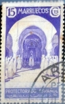 sello : Europa : España : Intercambio 0,20 usd 15 cents. 1937