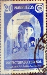 Stamps Spain -  Intercambio 0,25 usd 20 cents. 1939