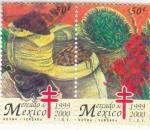 Sellos de America - México -  Mercado de México