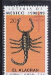 Stamps Mexico -  EL ALACRAN-Loteria de México
