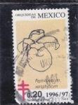 Stamps Mexico -  PAPHIOPEDILUM XEROPHYTICUM-Orquidias de México