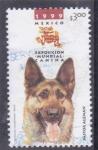 Stamps Mexico -  PASTOR ALEMAN-Exposición Mundial Canina