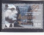 Stamps Mexico -  50 años primera obra Agustín Yañez