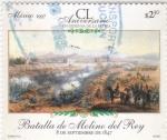 Sellos de America - México -  Batalla de Molino del Rey