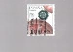 sellos de Europa - España -  europa