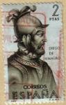 Sellos de Europa - España -  Diego de Almagro