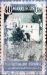 sello : Europa : España : Intercambio 0,25 usd 40 cents. 1940