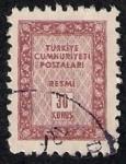 Sellos de Asia - Turquía -  cuadro
