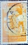 sello : Europa : España : Intercambio 0,20 usd 15 cents. 1935