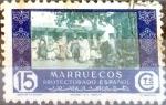 sello : Europa : España : Intercambio 0,20 usd 15 cents. 1948