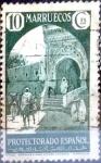 sello : Europa : España : Intercambio 0,20 usd 10 cents. 1933