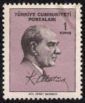 Stamps Turkey -  Kemal Ataturk