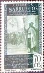 sello : Europa : España : Intercambio 0,20 usd 70 cents. 1955