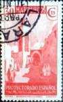 Stamps Spain -  Intercambio 0,20 usd 30 cents. 1937