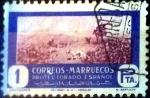 Sellos de Europa - España -  Intercambio 0,20 usd 1 pta. 1950