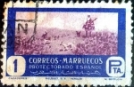 sello : Europa : España : Intercambio 0,20 usd 1 pta. 1950