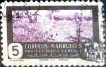 sellos de Europa - España -  Intercambio 0,20 usd 5 cents. 1950