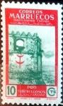 sello : Europa : España : Intercambio 0,25 usd 10 cents. 1950