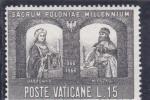 Sellos de Europa - Vaticano -  Sacrum Poloniae Millennium