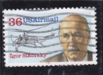 Stamps United States -  Igor Sikorsky