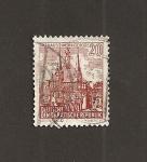 Sellos del Mundo : Europa : Alemania : DDR. Ayuntamiento de Wernigerode