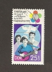Sellos de Europa - Alemania -  X DDR.Juegos mundiales de la Juventud.Berlin