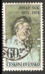 Sellos de Europa - Checoslovaquia -  Josef Suk
