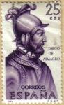 Stamps Spain -  Diego de Almagro