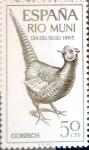 Sellos de Europa - España -  Intercambio nf4b 0,25 usd 50 cents. 1965
