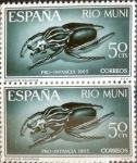 Sellos de Europa - España -  Intercambio 0,25 usd 50 cents. 1965