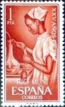 Stamps : Europe : Spain :  Intercambio 0,25 usd 1 pta. 1964