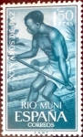 Stamps : Europe : Spain :  Intercambio 0,25 usd 1,50 ptas. 1964