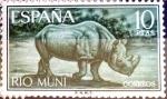 Stamps Spain -  Intercambio 8,50 usd 10,00 ptas. 1964