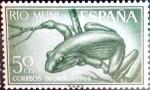 Stamps Spain -  Intercambio cryf 0,25 usd 50 cents. 1964