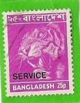 Stamps Asia - Bangladesh -  tigre