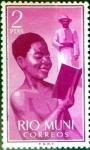 Stamps : Europe : Spain :  Intercambio 0,20 usd 2,00 pta. 1960