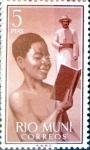 Stamps : Europe : Spain :  Intercambio 1,00 usd 5,00 pta. 1960