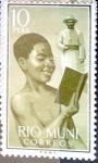 Stamps of the world : Spain :  Intercambio 1,75 usd 10,00 pta. 1960