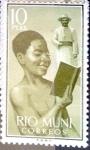 Stamps Spain -  Intercambio 1,75 usd 10,00 pta. 1960