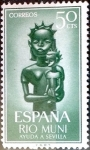 Stamps Spain -  Intercambio 0,25 usd 50 cents. 1963
