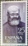 Stamps Spain -  Intercambio 0,25 usd 25 cents. 1963