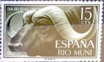 Stamps Spain -  Intercambio 0,25 usd 15 cents. 1962