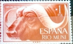 Stamps of the world : Spain :  Intercambio 0,25 usd 1 pta. 1962