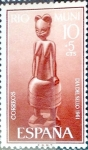 Stamps of the world : Spain :  Intercambio 0,25 usd 10 + 5 cents. 1961