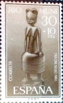 Stamps of the world : Spain :  Intercambio 0,25 usd 30 + 10 cents. 1961
