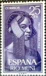 Stamps Spain -  Intercambio 0,25 usd 25 cents. 1962