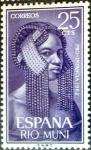 Sellos de Europa - España -  Intercambio 0,25 usd 25 cents. 1962